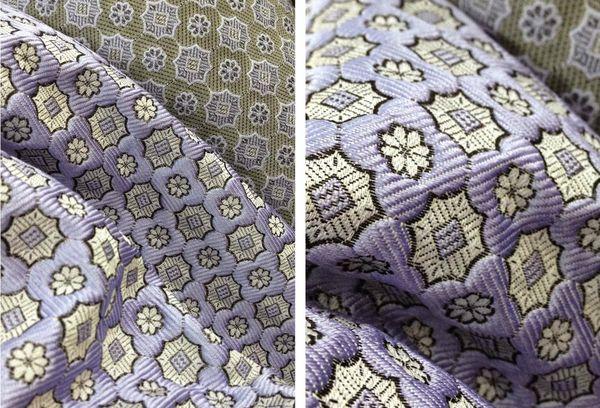 Жаккардовая ткань, линия Prada
