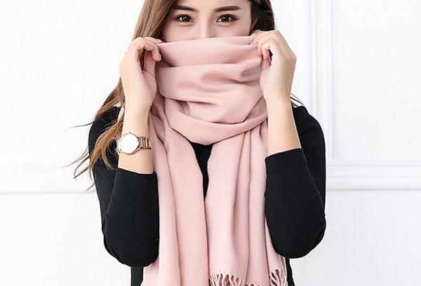 Акриловый шарф