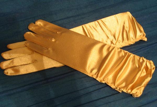 Атласные перчатки