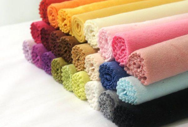Цветные ткани из микрофибры