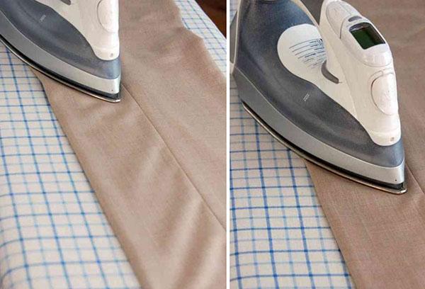 Глажка льняной одежды