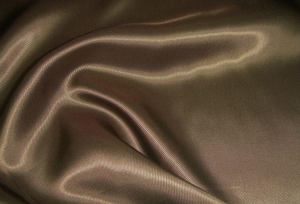 Ткань вискоза, ацетат шоколадного цвета
