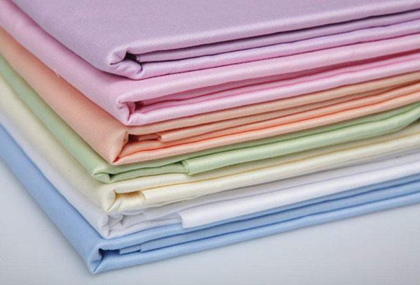 Сатин разных цветов для постельного белья