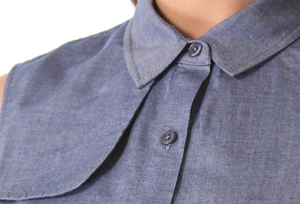 Рубашка из шамбре