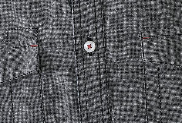 Рубашка из ткани шамбре