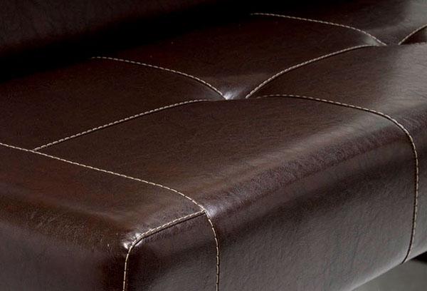 Обивка дивана из экокожи