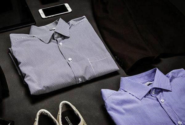 Мужские рубашки и обувь