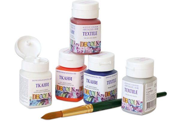 Акриловые красители для ткани