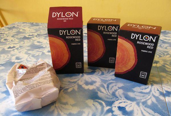Краски Dylon