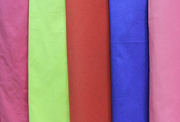 Поплин разных цветов