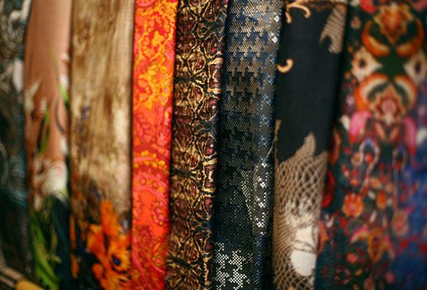Итальянские плательные ткани
