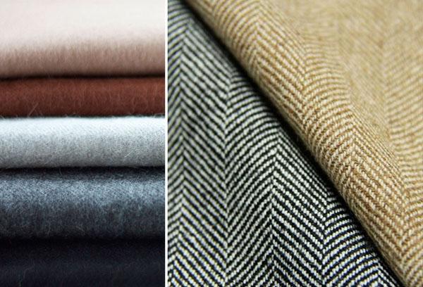 Как делают шерстяную ткань