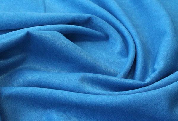 Отрез ткани софт голубого цвета