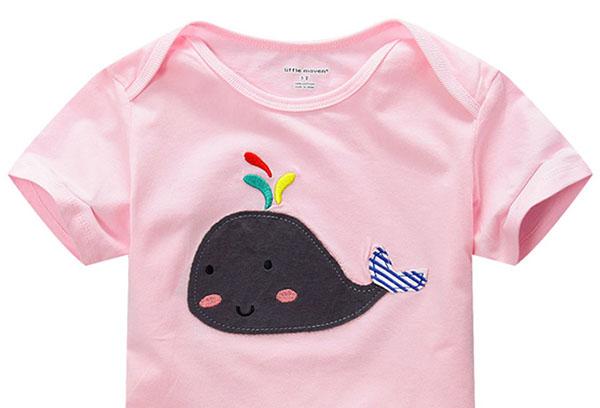 Детская футболка с аппликацией