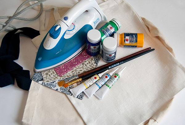 Подготовка к росписи по ткани акрилом