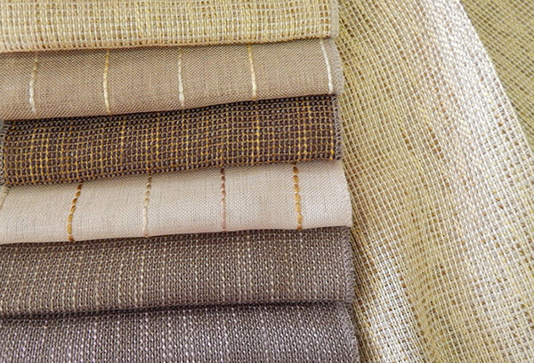 Виды натурального текстиля