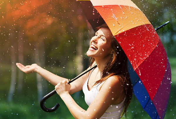 Vajza me ombrellë