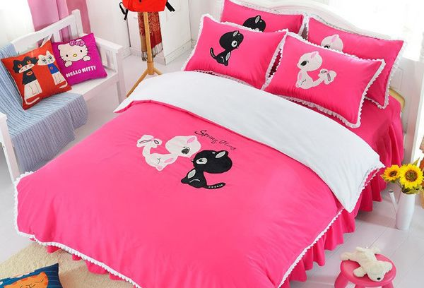 Детская кроватка для девочек
