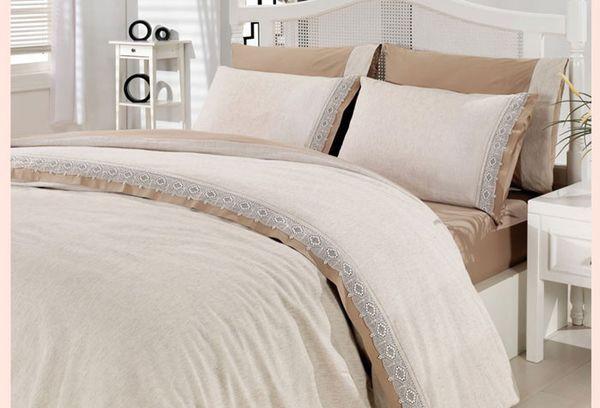 Постельное белье из льняной ткани