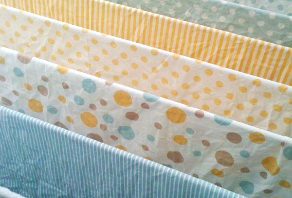 Сушка полотен ткани