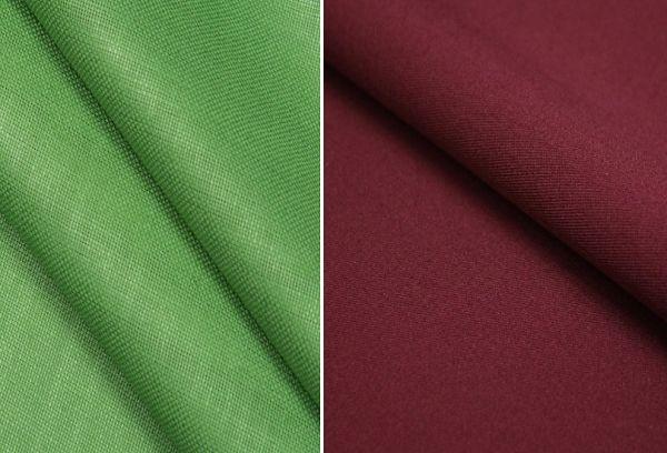 Ткань базь зеленого и коричневого цвета