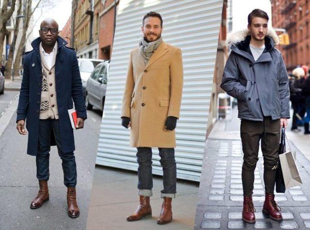 Ботинки челси к коротким джинсам