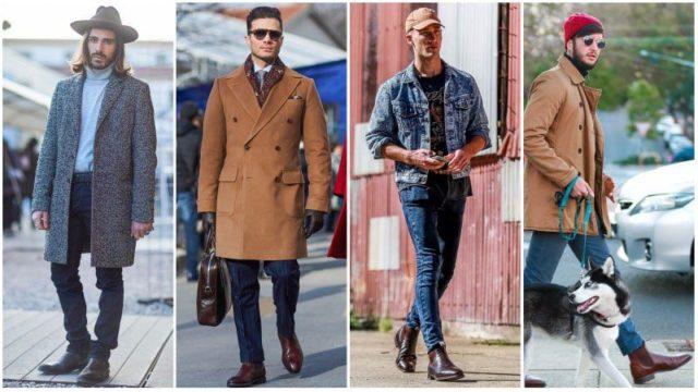 Пальто и куртки в сочетании с челси