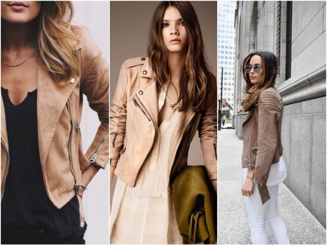 Коричневые куртки