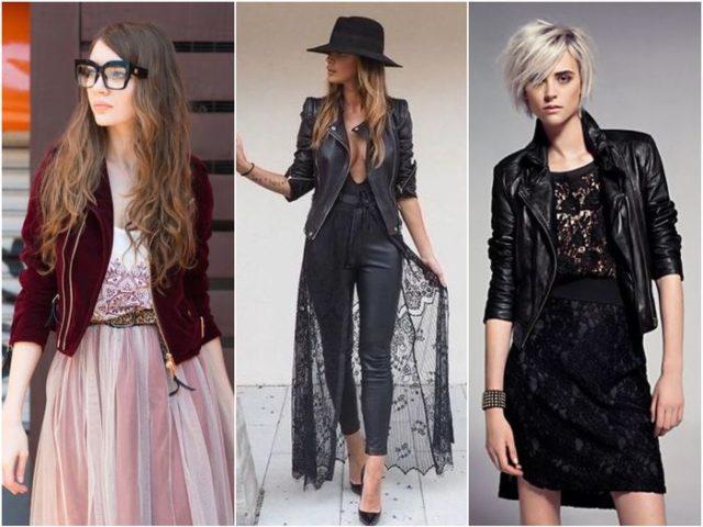 Модная косуха под платье
