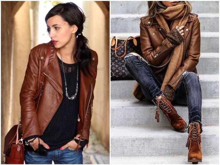 темно-коричневая куртка
