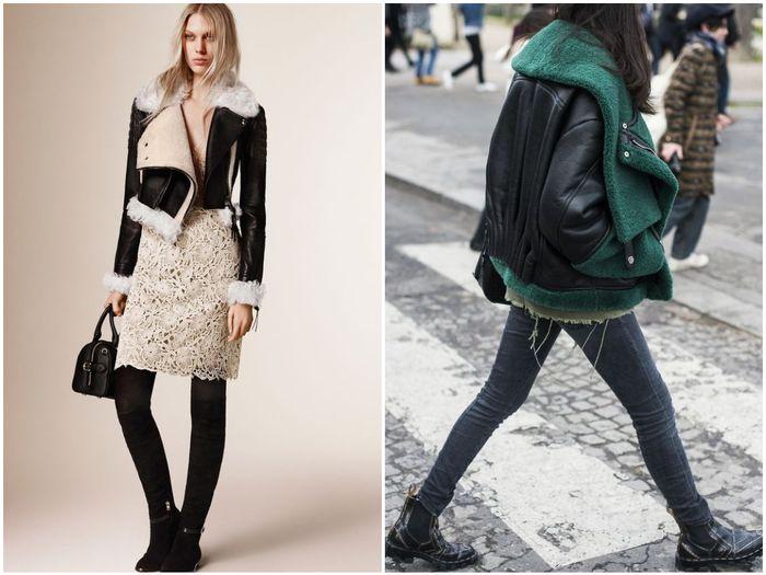 Зимние куртки с мехом