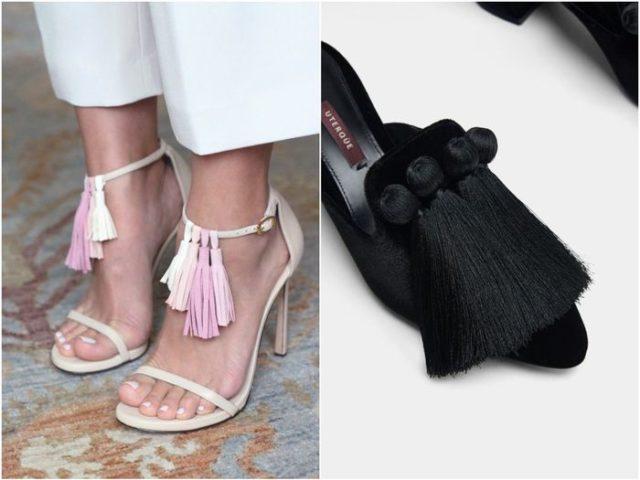 Женская обувь с кисточками