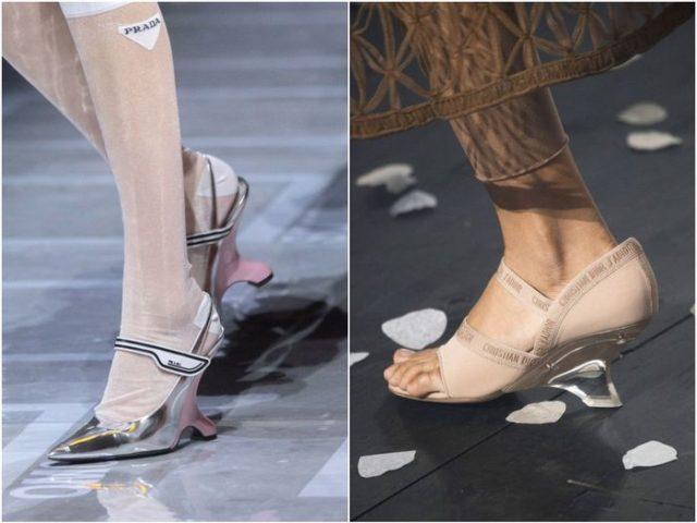 обувь с невидимым каблуком