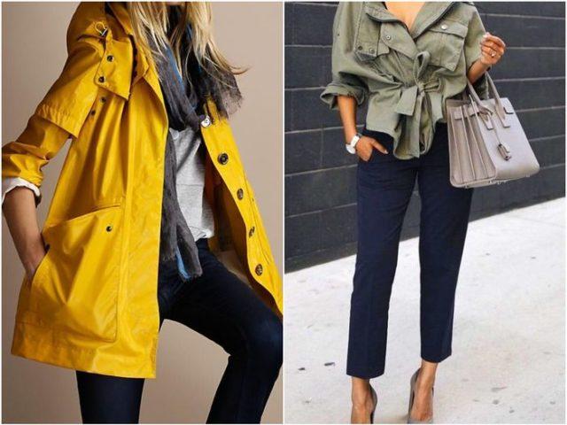 Дождевые куртки