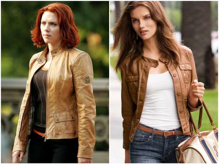 коричневые женские куртки