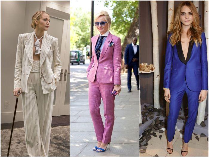 Брючные костюмы для бизнес леди