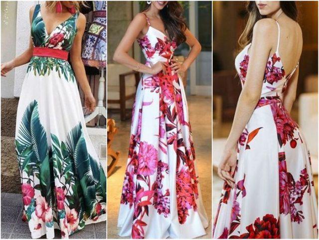 сарафаны в цветочках