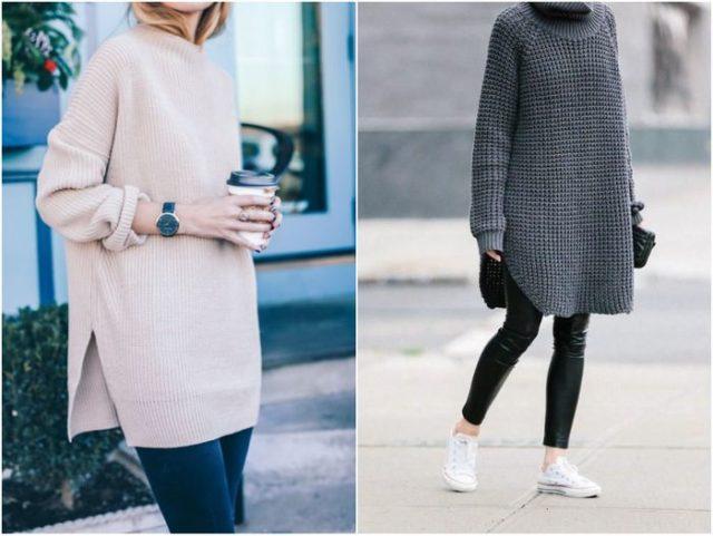 свитера разных моделей