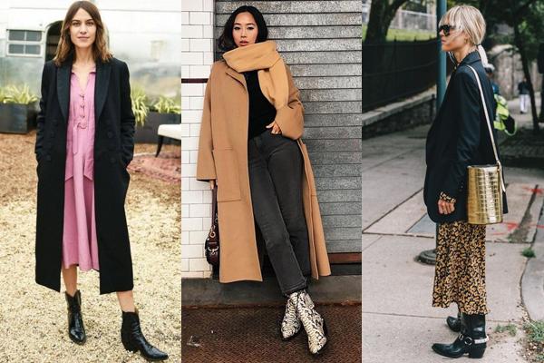 Казаки с длинным пальто