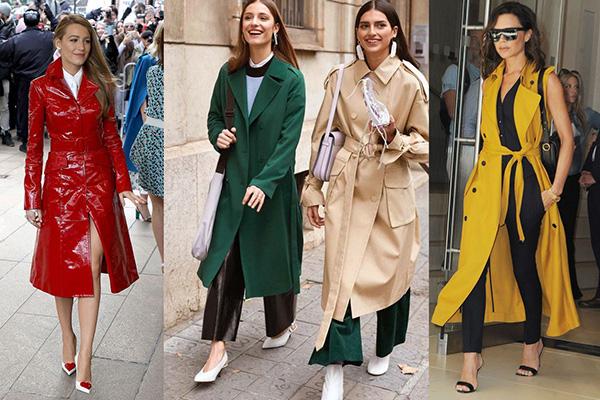 Модные женские плащи - 2019