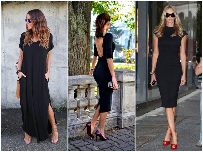 Платье и каблук