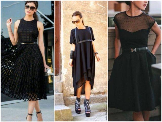 Поясок на платье