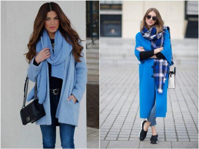 Шарфы к пальто
