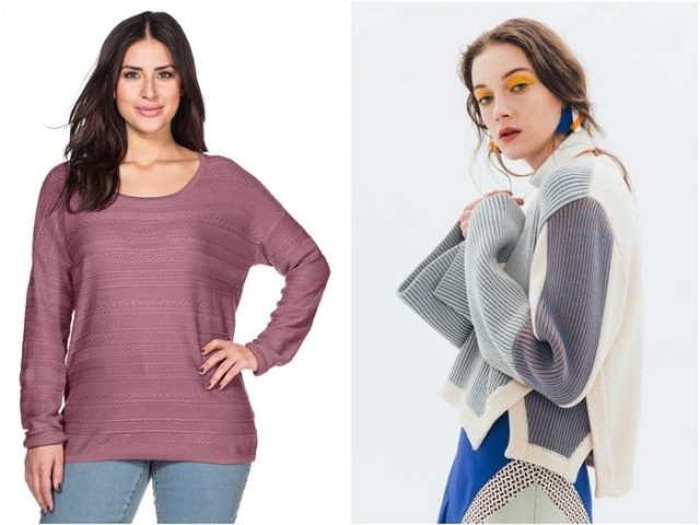 Модные свитера осень-зима