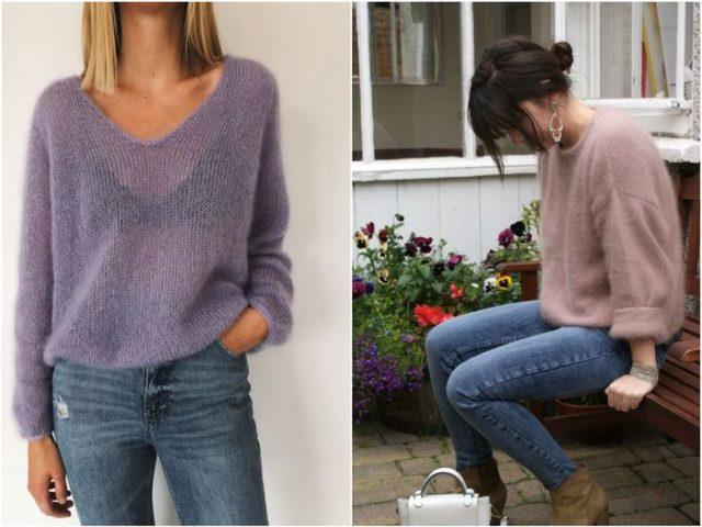 Легкие пуловеры