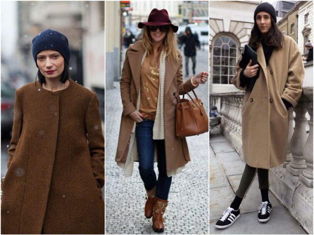 Шляпа с пальто