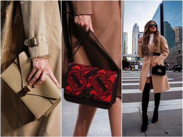 Модные сумки с пальто