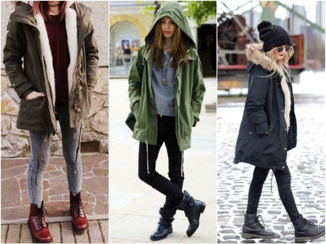 Грубые ботинки и грубые штаны