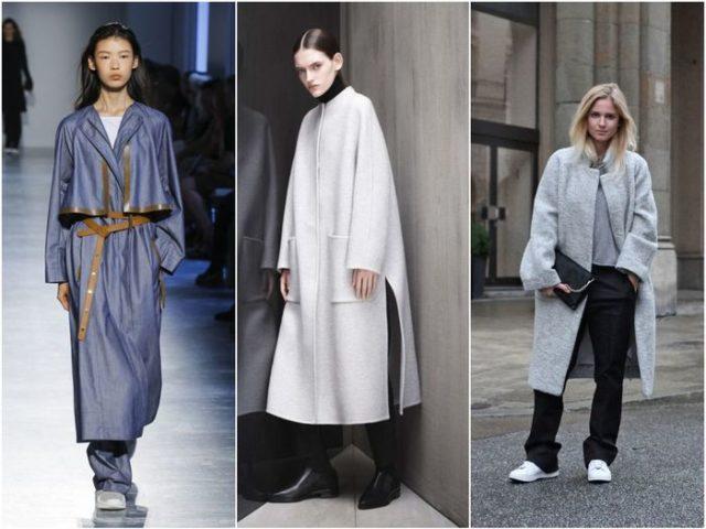 Пальто разных фасонов