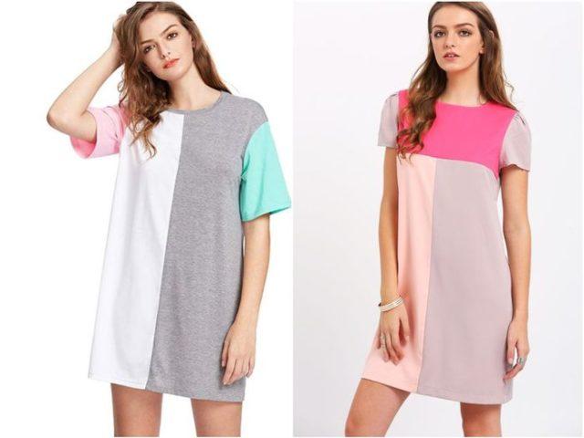 Актуальны футболки-платья